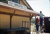 M&M Construction installs new redwood gutters, 5/1988. acc2005.001.0970
