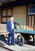 Volunteer agent Bob McNeel, 12/1987. acc2005.001.0896