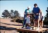 Handcar rides at museum begin, 11/1989. acc2005.001.1226