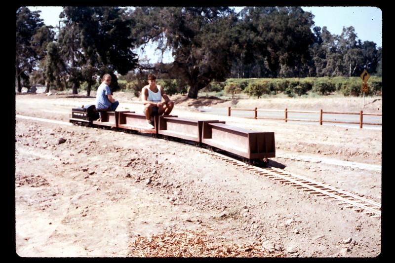 Diesel locomotive #1316 (Mike Williams and Steve Kramer),  1990. acc2005.001.1431