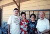 Family of Selzo Lopez (former Southern Pacific Railroad employee), Spring 1989. acc2005.001.1059