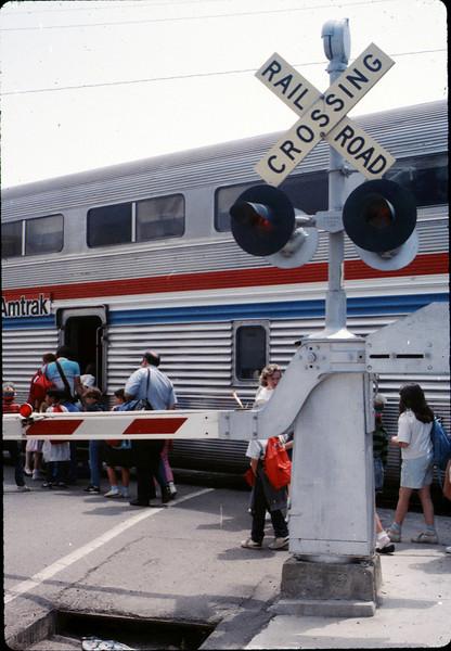 San Luis Obispo school rail trip, 5/3/1989. acc2005.001.1140