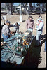 Depot Day steam display (Ernie Thomsen, Jim Higman), 10/1990. acc2005.001.1388