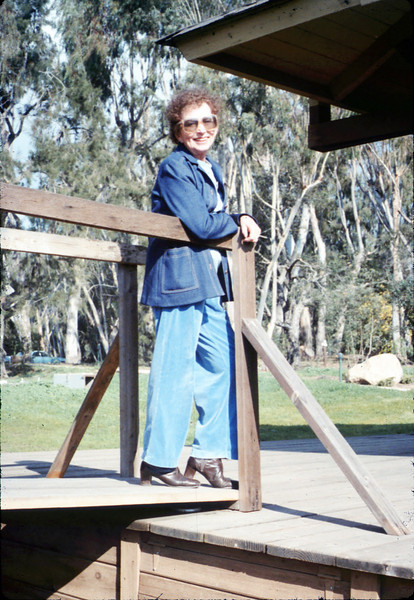 Volunteer Hilda Volkman, 12/1987. acc2005.001.0899