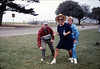 Asphalt Regatta spring fundraiser (John Starr, Christine Negus, Edee Brown), 4/1989. acc2005.001.1083