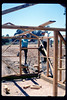 Construction of miniature-train shed (Jim Allen & Gene Allen), 6/1990. acc2005.001.1353