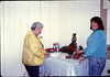 Museum Christmas Party (Theresa Caccese and Jane Hieter), 12/1989. acc2005.001.1233