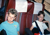 Museum leads Vieja Valley Elementary School rail trip to Glendale, 4/1989. acc2005.001.1068