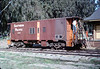 Ron Robinson cleans Caboose 4023, 12/1986 acc2005.001.0658