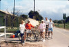 1987 Asphalt Regatta spring fundraiser - Marie Harden, Bill Shinn, Janice Shinn, Kip Kramer, and Steve Kramer. acc2005.001.0777