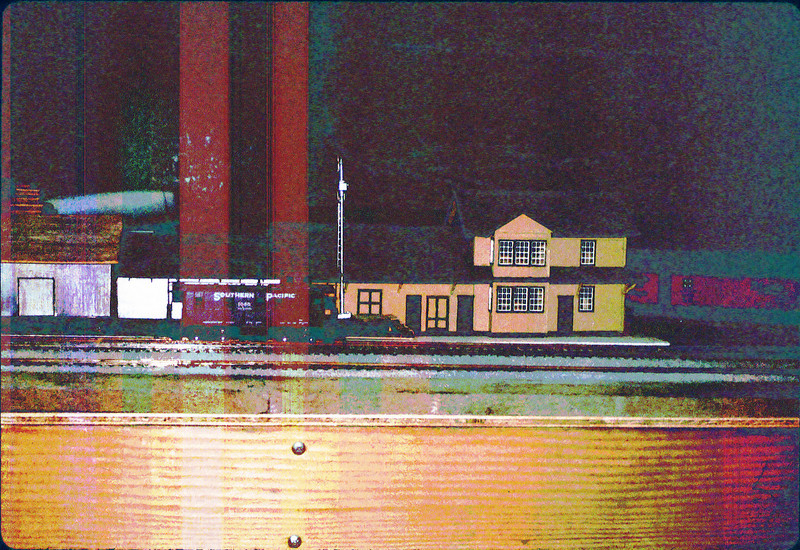 Model of Goleta Depot by William Cormack, M.D. 3/1986 acc2005.001.0566