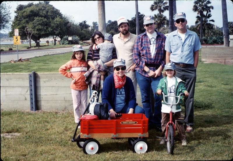Moore Family at Asphalt Regatta spring fundraiser, 3/14/1987. acc2005.001.0723