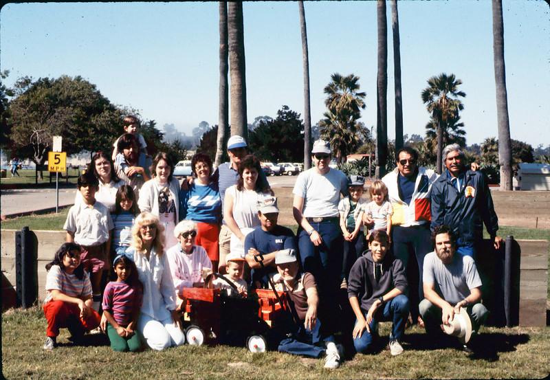 Asphalt Regatta spring fundraiser participants, 3/22/1986. acc2005.001.0563