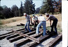Laying of the standard-gauge track, 5/11/1985 acc2005.001.0508
