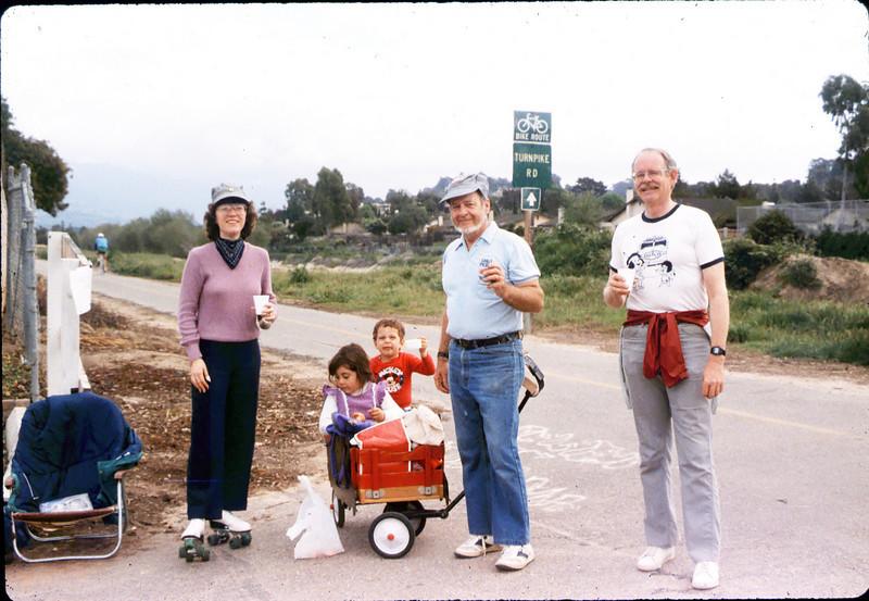 1987 Asphalt Regatta spring fundraiser - Diana Mina, Gene Boswell and John Starr. acc2005.001.0773