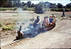 Santa Barbara Railroad Centennial (Gene Allen, engineer), 8/1987 acc2005.001.0852