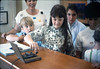 La Patera Elementary School Special Education classes tour Goleta Depot  (Teacher Edie Wells), 4/15/1987. acc2005.001.0744