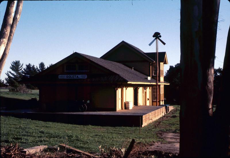 Goleta Depot, 1985. acc2005.001.0463