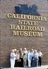 Sacramento museum rail trip group, 5/8/1986. acc2005.001.0591