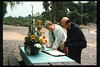 Memorial and tree-dedication honoring late museum benefactor Earl Hill, 8/8/1992. acc2005.001.1655