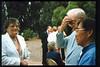 Memorial and tree-dedication honoring late museum benefactor Earl Hill (Thelma Sullivan), 8/8/1992. acc2005.001.1660