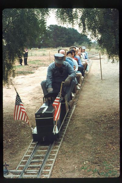 Fourth of July train rides (Jack Cogan), 7/4/1991. acc2005.001.1485