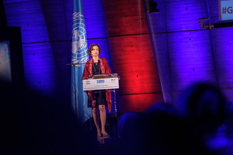 Cérémonie de remise du Prix UNESCO pour l'éducation des filles et des femmes