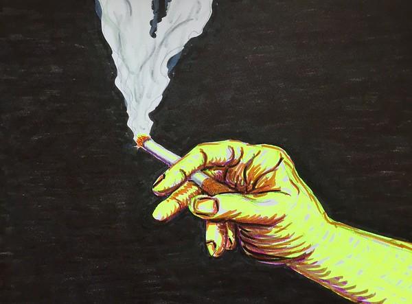 Romancing The Smoke Trailer Art