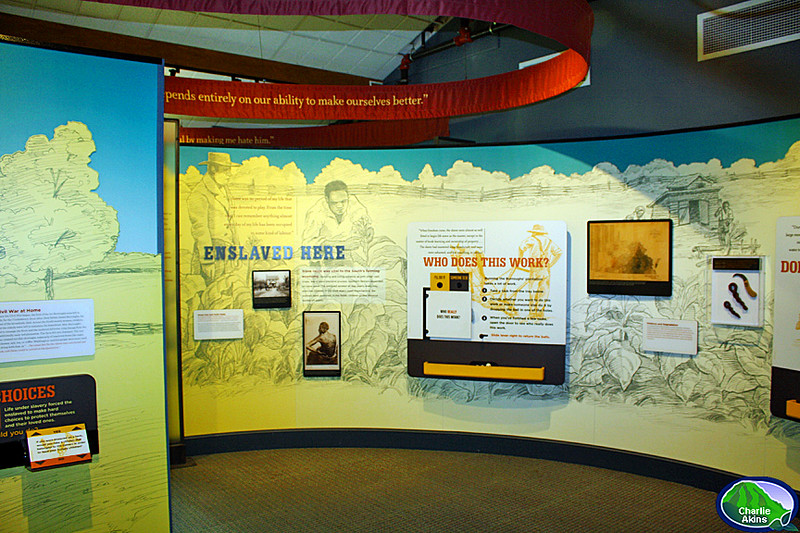 Museum inside the visitor center