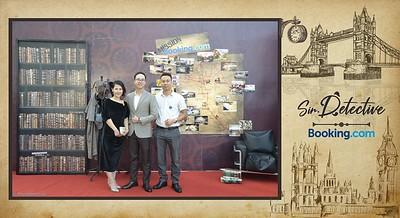 Booking.com Vietnam | Sherlock Holmes theme party | instant print photo booth in Ha Noi | Chụp ảnh lấy ngay tại Hà Nội