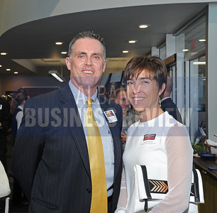 6-18-2015, Albany Business Review's Book of Lists bash. Bill McCartan and Anne Putnam from Fenimore Asset Management.