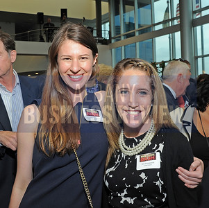 6-18-2015, Albany Business Review's Book of Lists bash. Caroline Freeman of Coutyard by Marriott and Ali Ainsworth of Courtyard