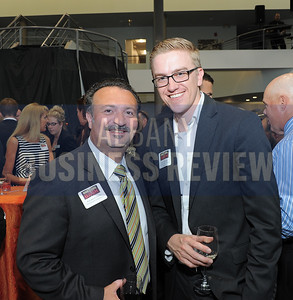6-18-2015, Albany Business Review's Book of Lists bash. Antonio Civitella from Transfinder Corporation and Ryan Watroba from Coldwell Banker Prime Properties.