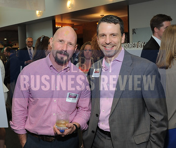 6-18-2015, Albany Business Review's Book of Lists bash. Chris Chiovoloni with Lauren Groff of Groff NetWorks.