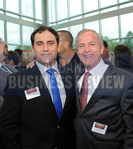 6-18-2015, Albany Business Review's Book of Lists bash. Boulos Abdallah and Chris Ciceri from the Albany Devils.