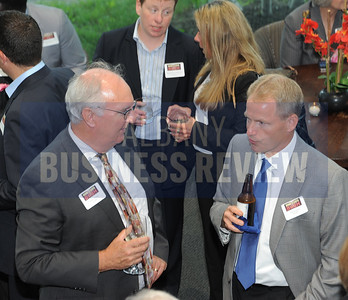 6-18-2015, Albany Business Review's Book of Lists bash. John Gross and Paul Goetz from SaxBST.