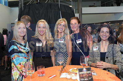 6-18-2015, Albany Business Review's Book of Lists bash. Christine Perlee of Capital Bank, Donielle Torregrossa of Intel, Kristen Foley, Wendy Martin and Tina Stanoski of Energy Partners Consultants.