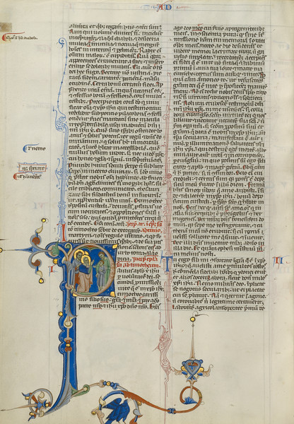 Initial P: Timothy Presented to Saint Paul