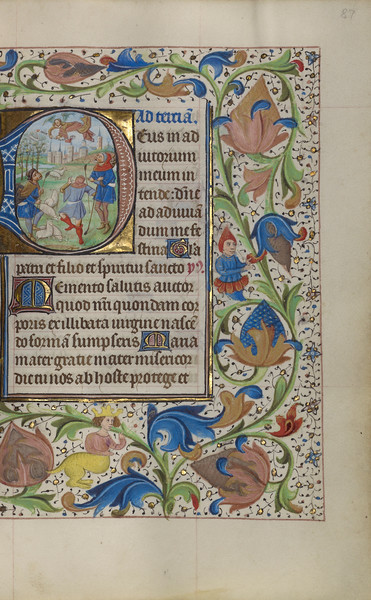 Initial D: The Annunciation to the Shepherds