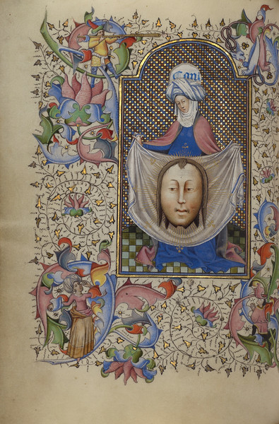 Saint Veronica Displaying the Sudarium