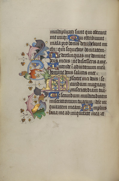Decorated Initial M