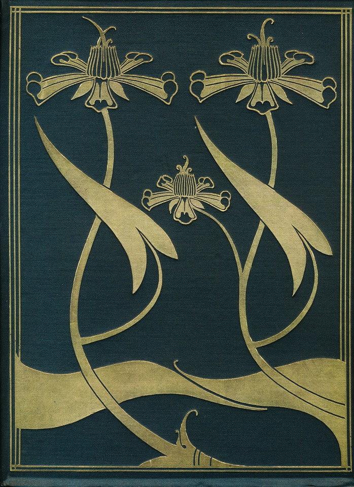 Aubrey Beardsley - cover from Le Morte d'arthur (JM Dent London 1927)