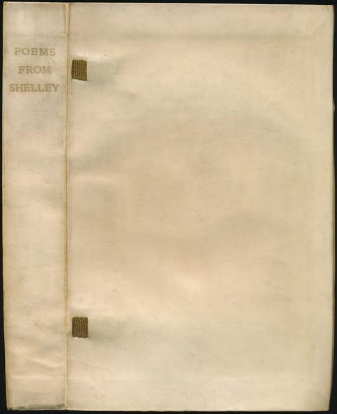 Full stiff vellum with yapped edges - ltd to 500 copies