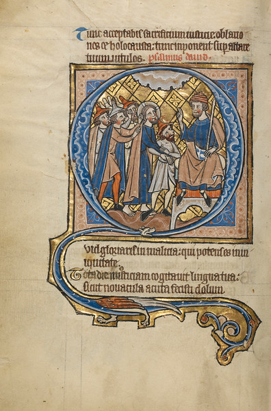 Initial Q: Christ before Pilate