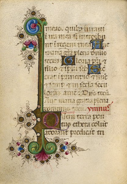 Decorated Initial Q