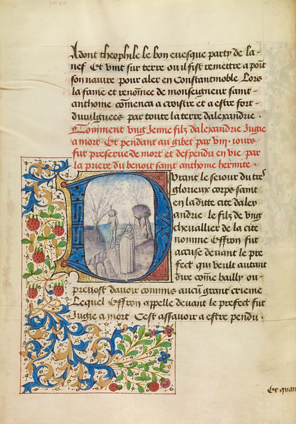 Initial D: Saint Anthony Raising a Dead Man