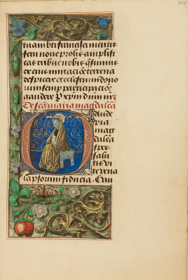 Initial G: Mary Magdalene