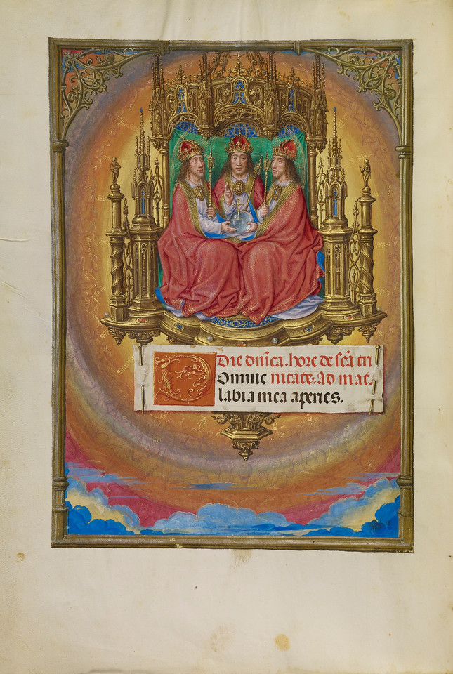 The Holy Trinity Enthroned