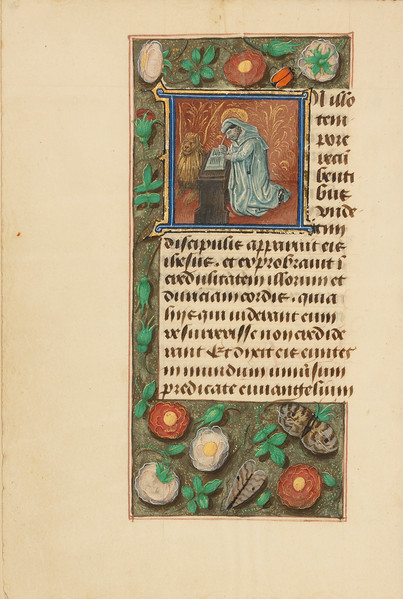 Initial I: Saint Mark