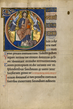 Initial D: Christ Enthroned
